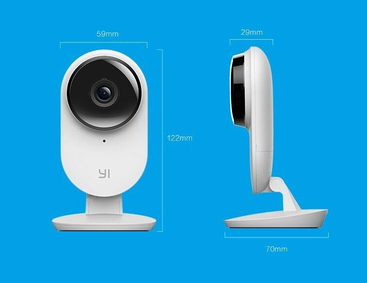 Габариты IP камеры Yi Home 2