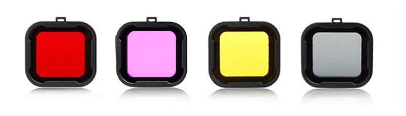 Цветные фильтры для подводной съемки