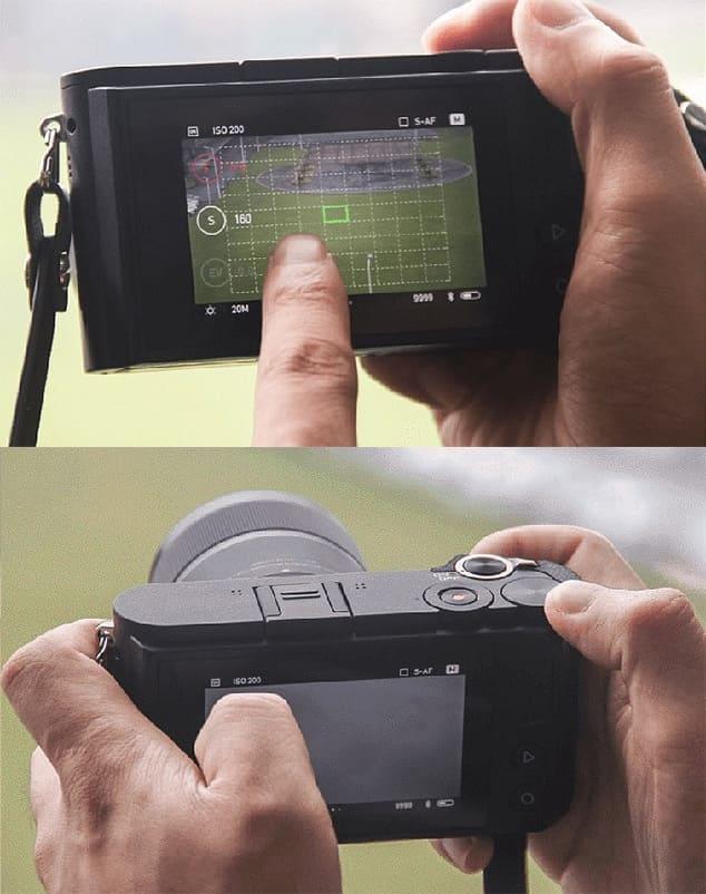 Cенсорный дисплей камеры Yi M1