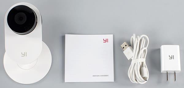 Комплект поставки Xiaomi Yi home camera