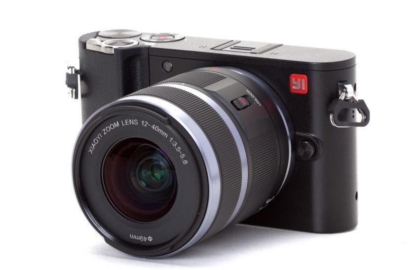 Yi M1 Mirrorless Digital Camera Black