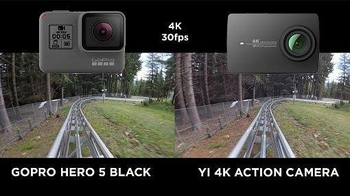 gopro hero 5 vs xiaomi 4k