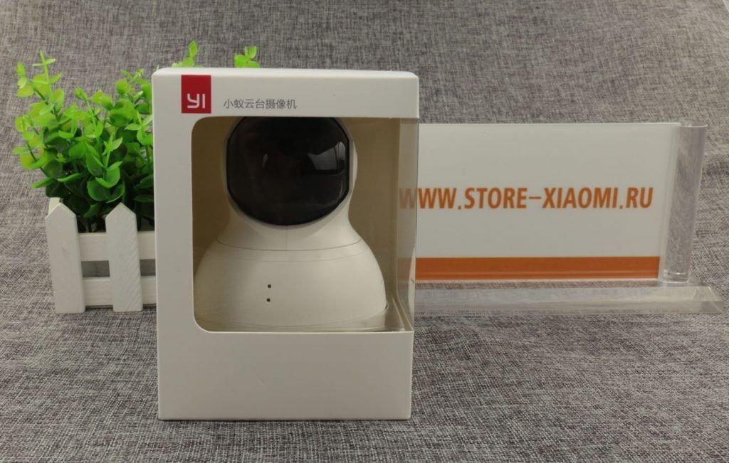 Внешний вид упаковки камеры