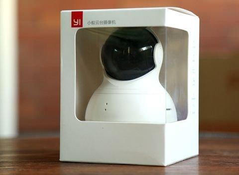 yi dome camera упаковка