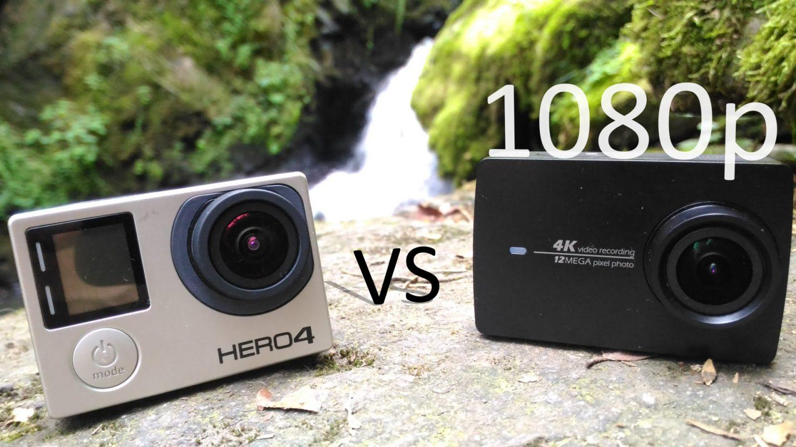 Xiaomi YI 4k VS GoPro Hero4