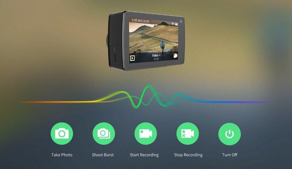 Голосовое управление камерой