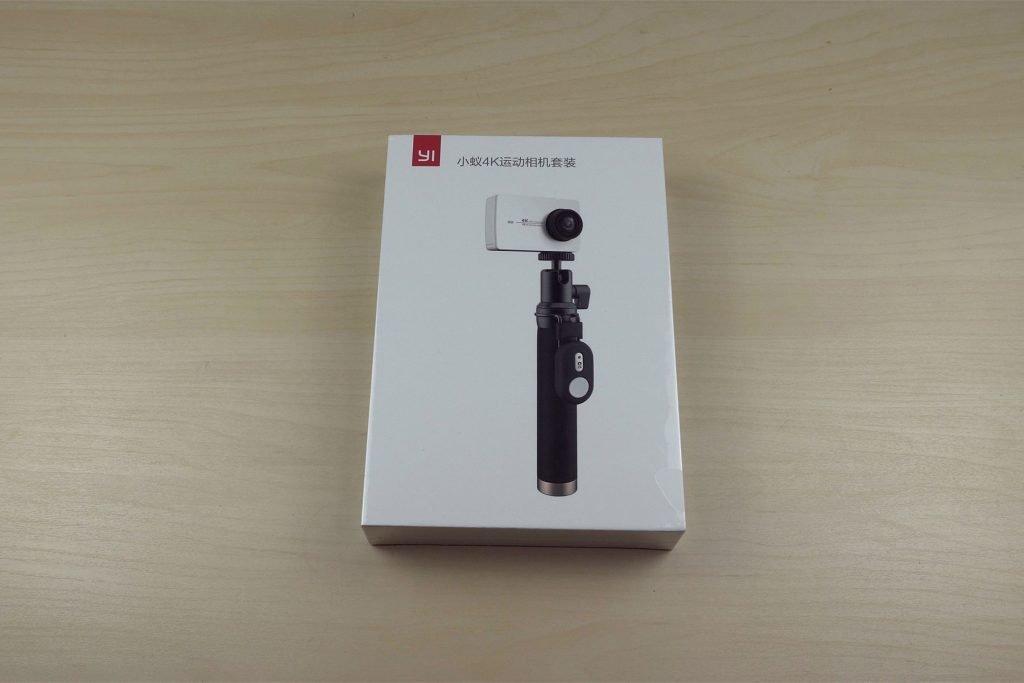 Упаковка Xiaomi Yi 4k
