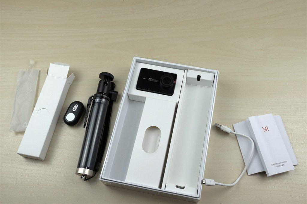 Комплект поставки Упаковка Xiaomi Yi 4k travel edition