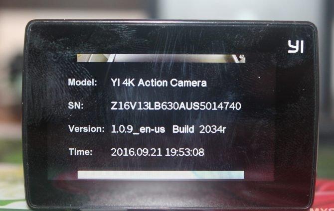 Xiaomi yi 2 4k прошивка
