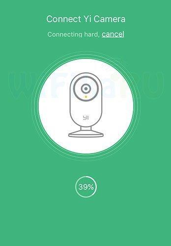 Процесс подключения камеры к сети