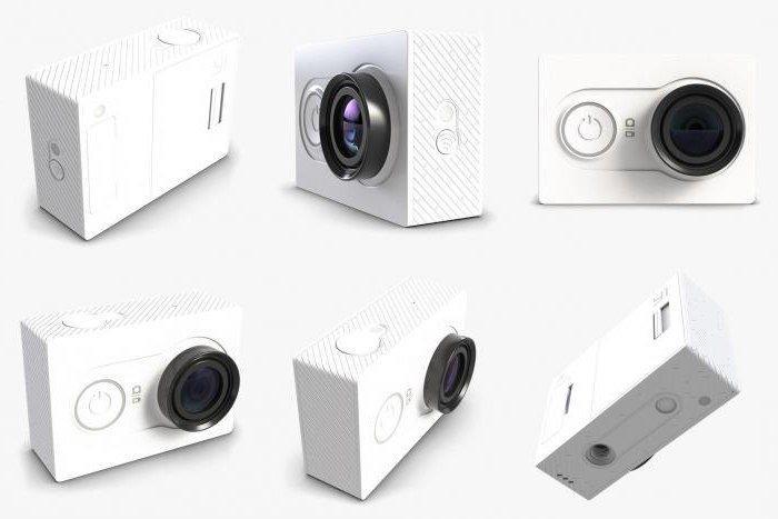 Дизайн Экшн камера Xiaomi Yi Action Camera