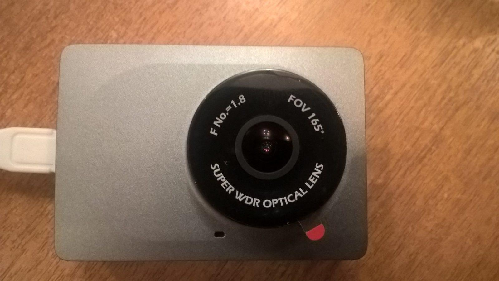 Видеорегистратор Xiaomi Yi Smart Dash Camera серый