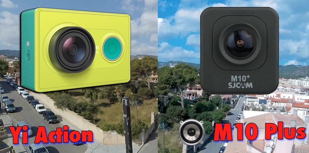 Сравнение Xiaomi Yi и Sjcam M10+