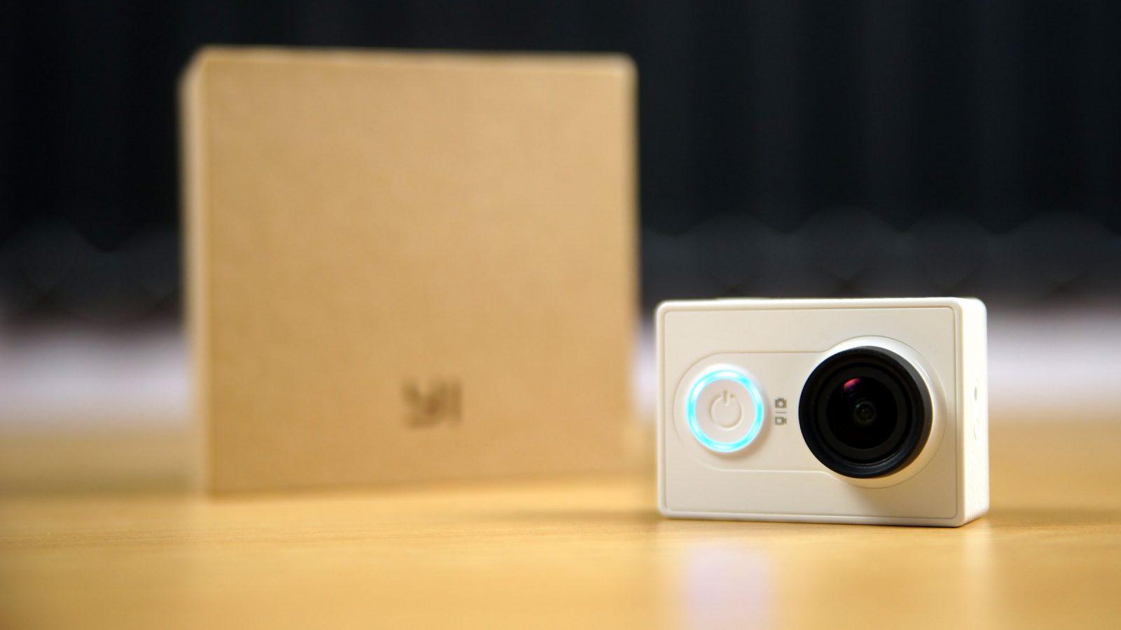 Экшен камера Xiaomi Yi action