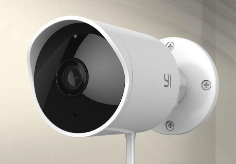 Камера для видеонаблюдения Yi Smart Outdoor Camera