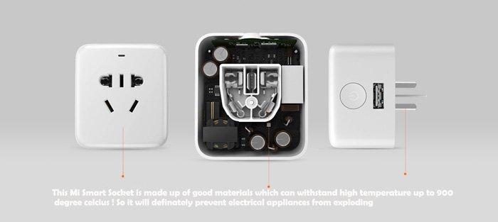 розетка Xiaomi Mi Smart Socket Plug