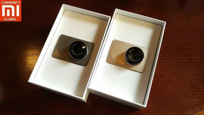 Видеорегистратор Xiaomi Yi smart dash camera