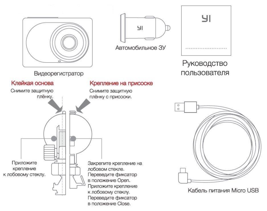 инструкция на русском видеорегистратор xiaomi yi