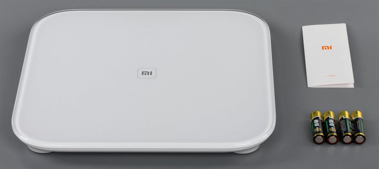 Умные весы Xiaomi Mi smart