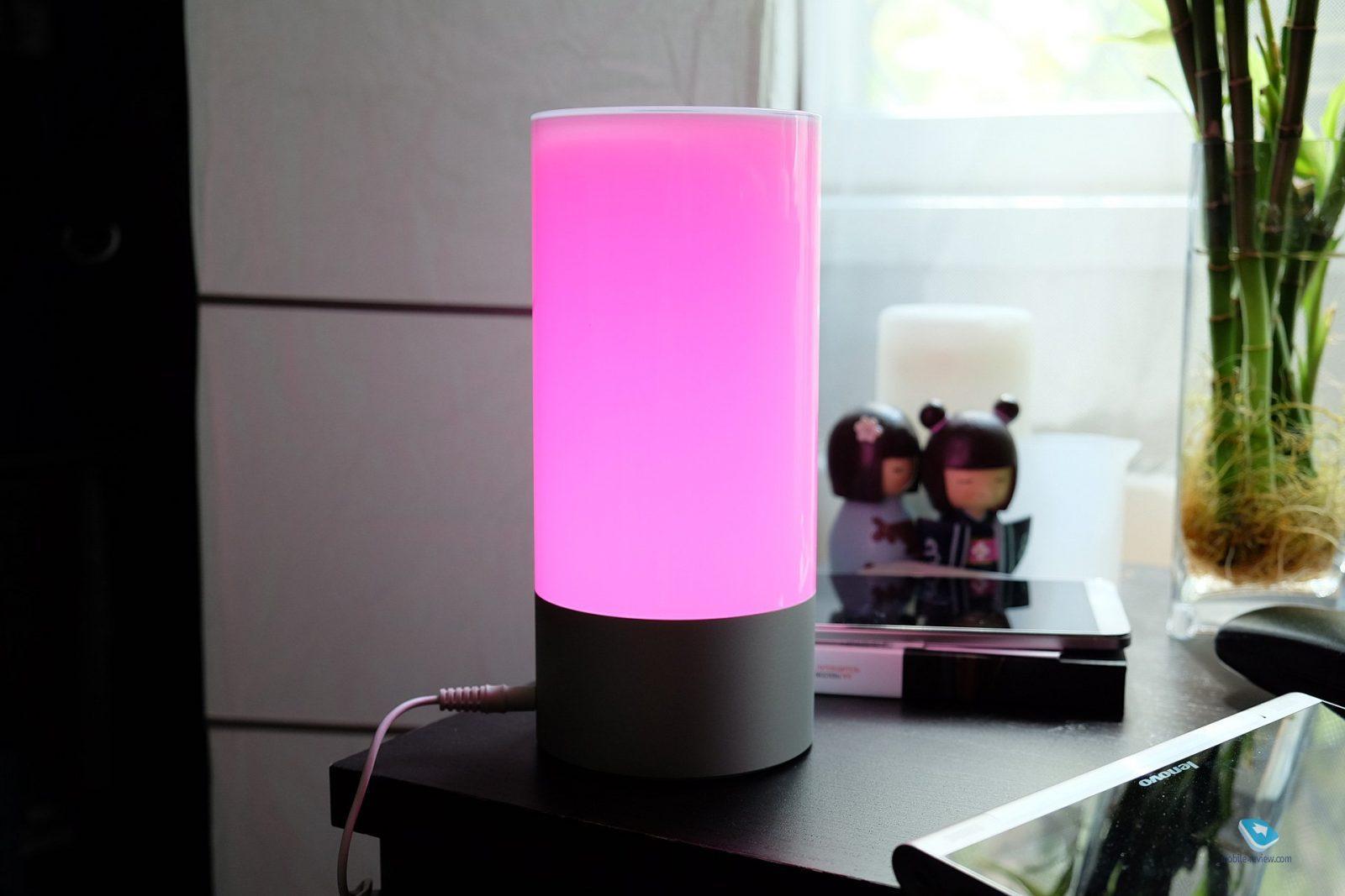Прикроватная лампа Xiaomi Mi yeelight smart color