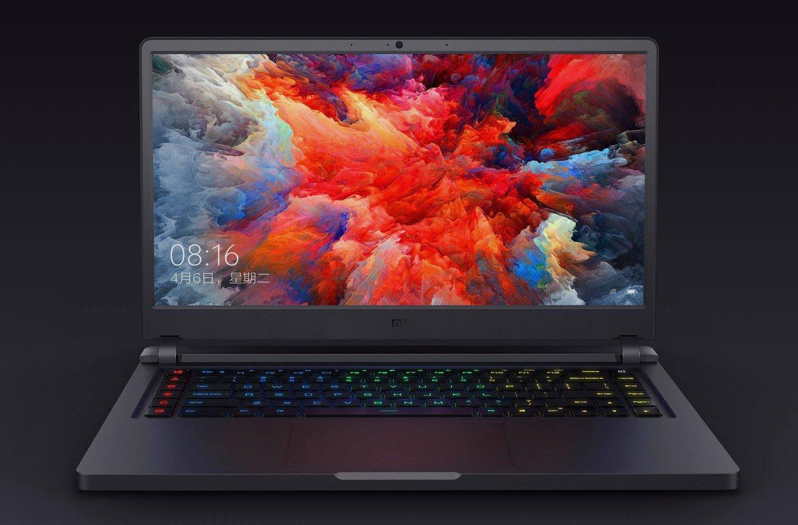 ноутбук xiaomi mi gaming laptop