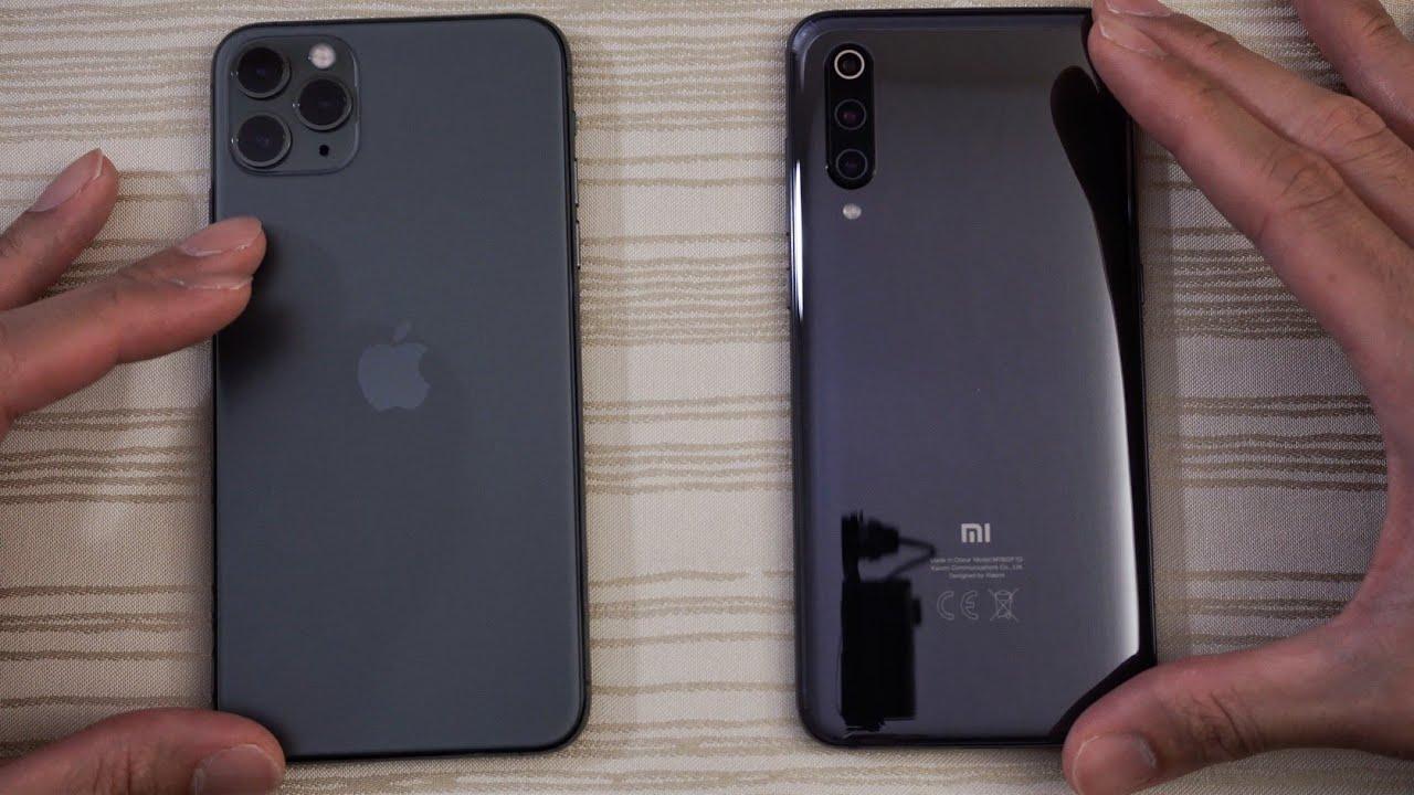 iphone 11 vs xiaomi mi 9