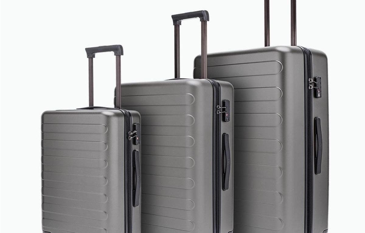 умный чемодан xiaomi