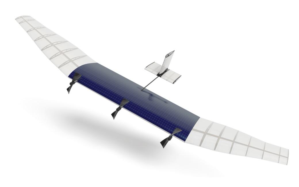 Facebook запускает испытание дронов Aquila