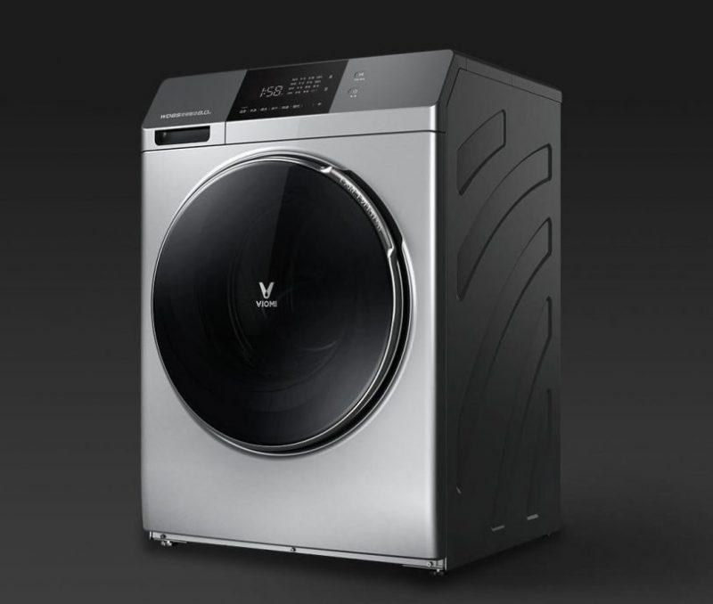 Как работает стиральная машинка с сушкой Viomi Cloud Meter Internet Washing Machine 8 kg (WD8S) от Xiaomi